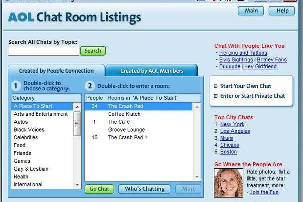 Free chat room sites