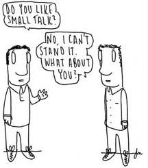 small-talking